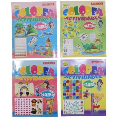 LIBRO INFANTIL COLOREAR Y ACTIVIDADES - Euroboom